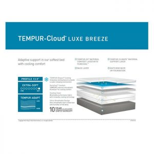 TEMPUR-Cloud Luxe